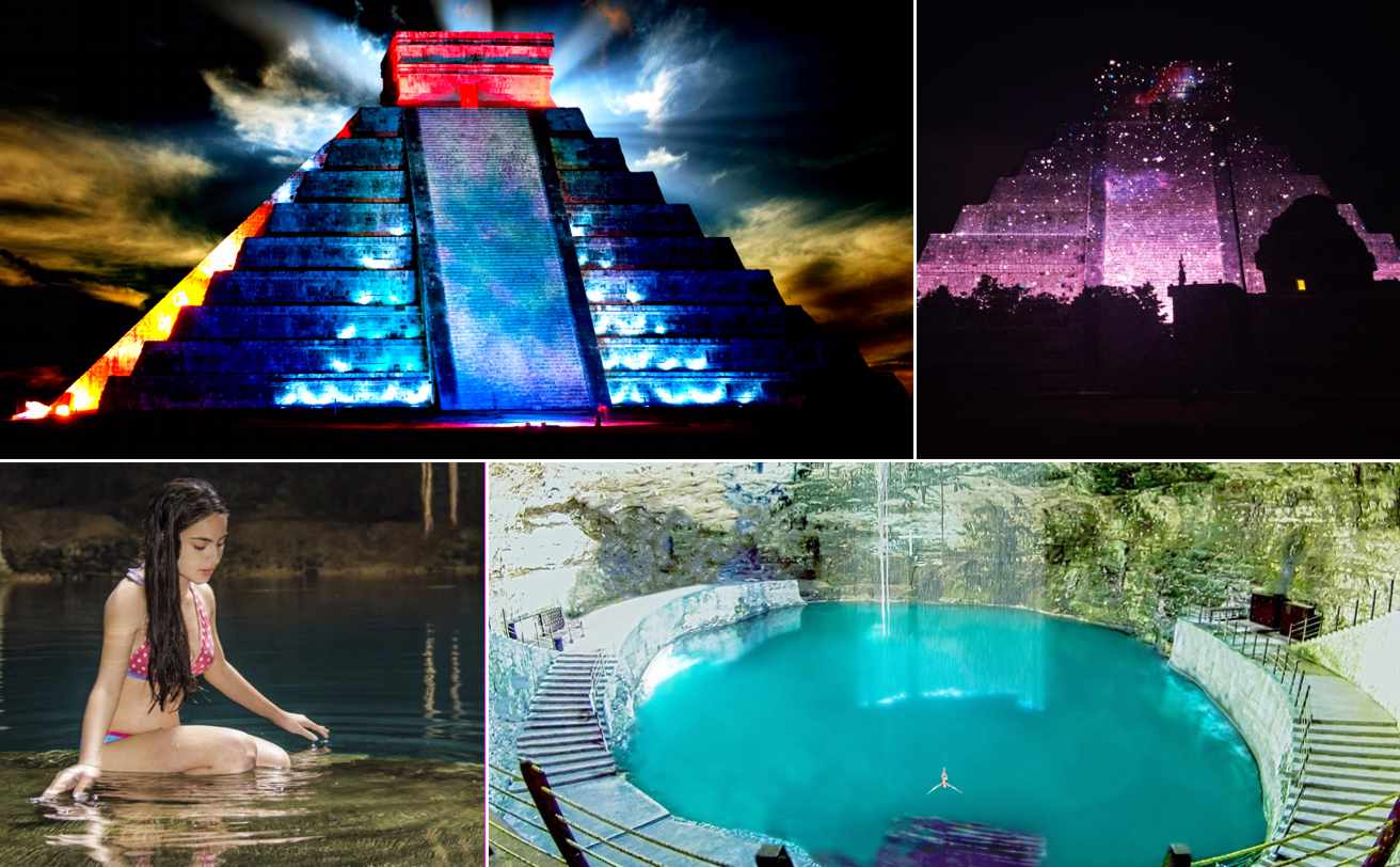 Chichen Itzá Show de Luz y Sonido desde Cancún | Tz19