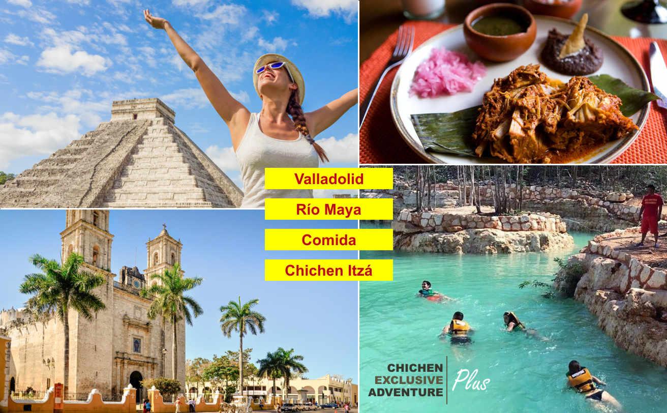 Chichen Itzá Aventura Exclusiva Plus desde Cancún, horario especial | Tz19