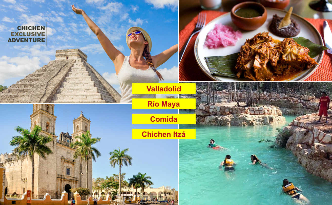 Chichen Itzá Aventura Exclusiva desde Cancún, horario especial | Vg