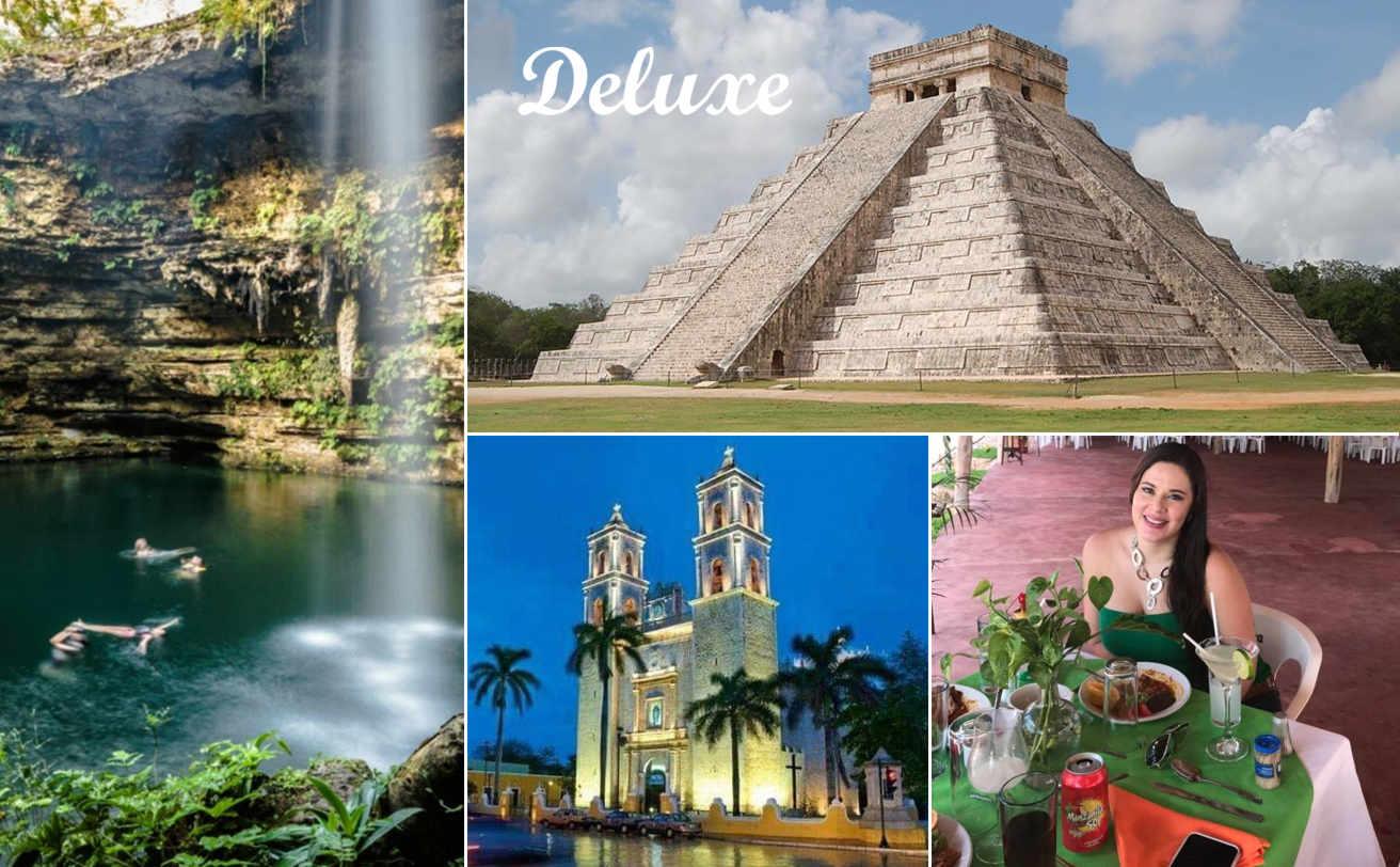 Chichen Itzá desde Tulum DELUXE y Cenote   VC19