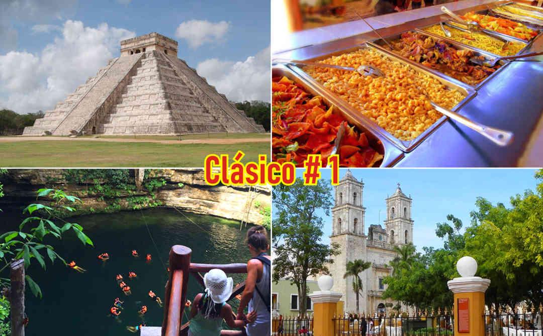 Chichen Itzá desde Cancún Económico y Cenote Maya | Tz19