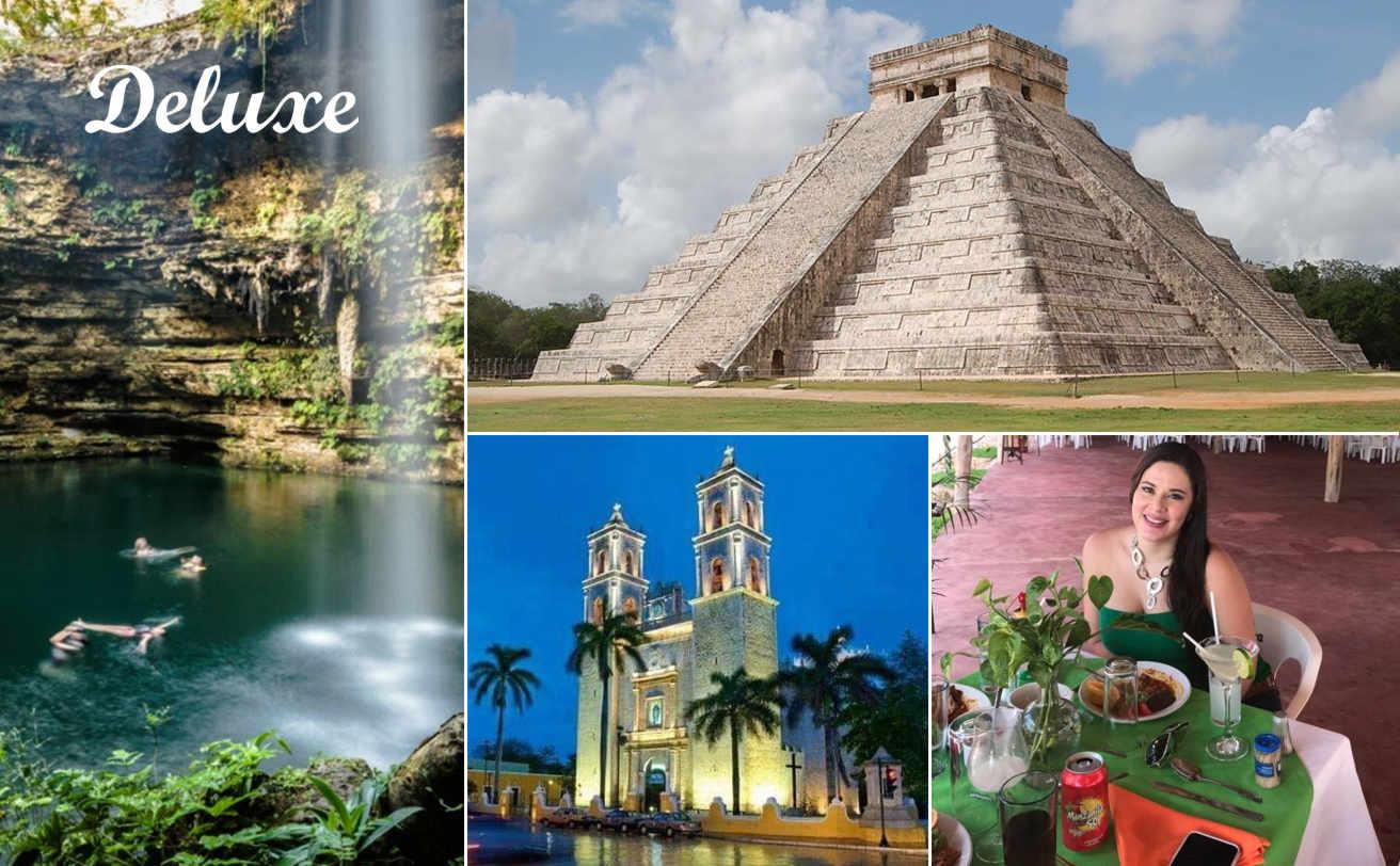 Chichen Itzá desde Cancún DELUXE y Cenote Maya | Tz19