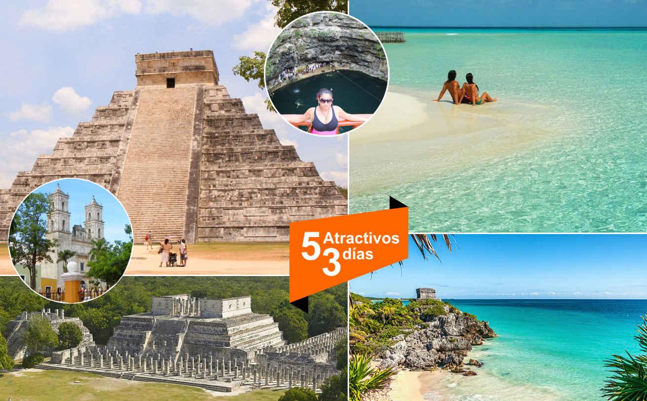 Combos 2017 3 dias en Cancun con Tours