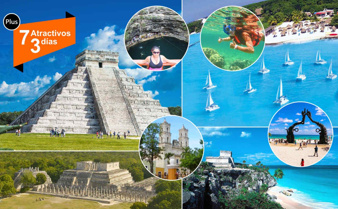 Chichen Itzá + Tulum + Isla Mujeres Plus | 3 DIAS 3 tours