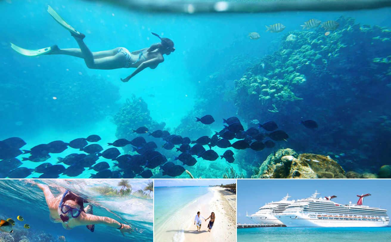 Snorkel en Isla COZUMEL desde Cancún (2 arrecifes)