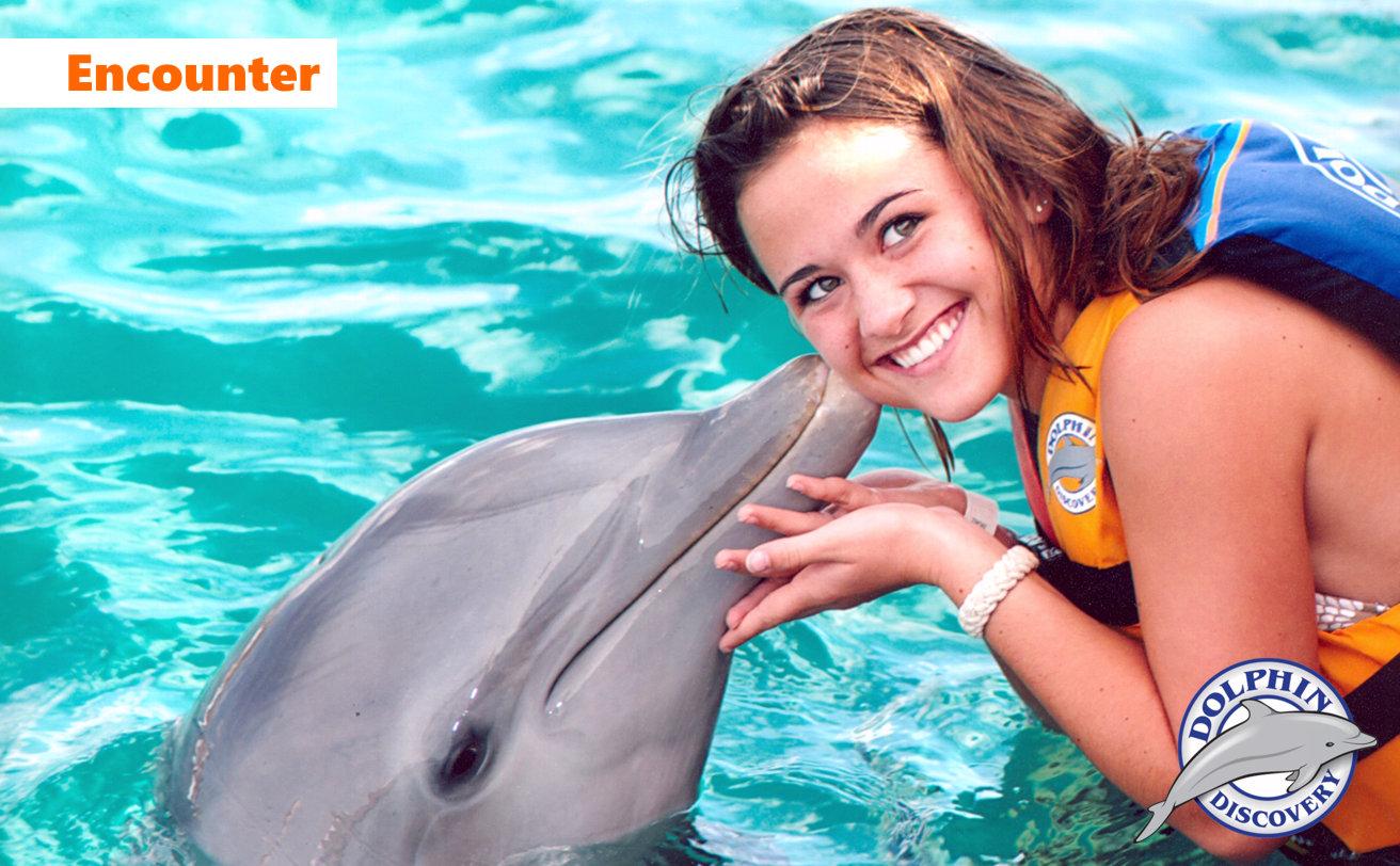 Delfines Encounter desde Cancún ✓