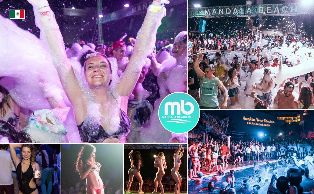 Mandala Beach Night Cancún - Barra Libre (club de playa)  | MX