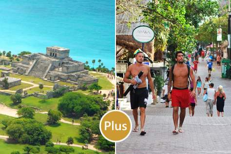 Tulum Express + Playa del Carmen desde Cancún PLUS ✓