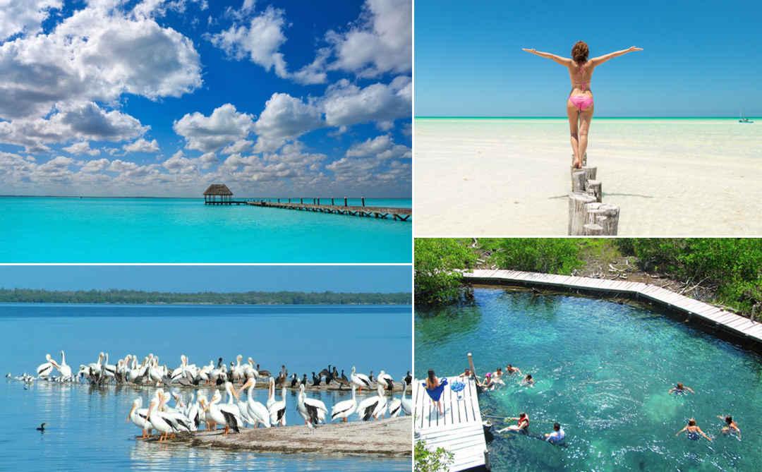 Isla Holbox, Isla de los Pájaros, Isla de la Pasión desde Cancún