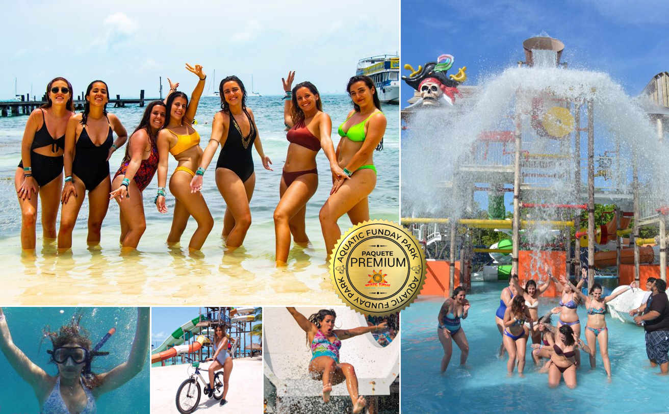 ISLA MUJERES Aquatic Funday Premium | Tz19