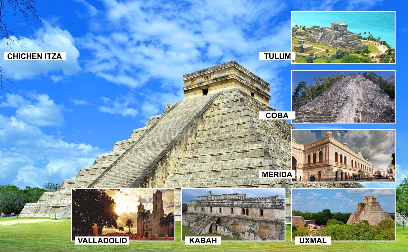 Expediciones Mayas 3 días 2 noches | Tz19