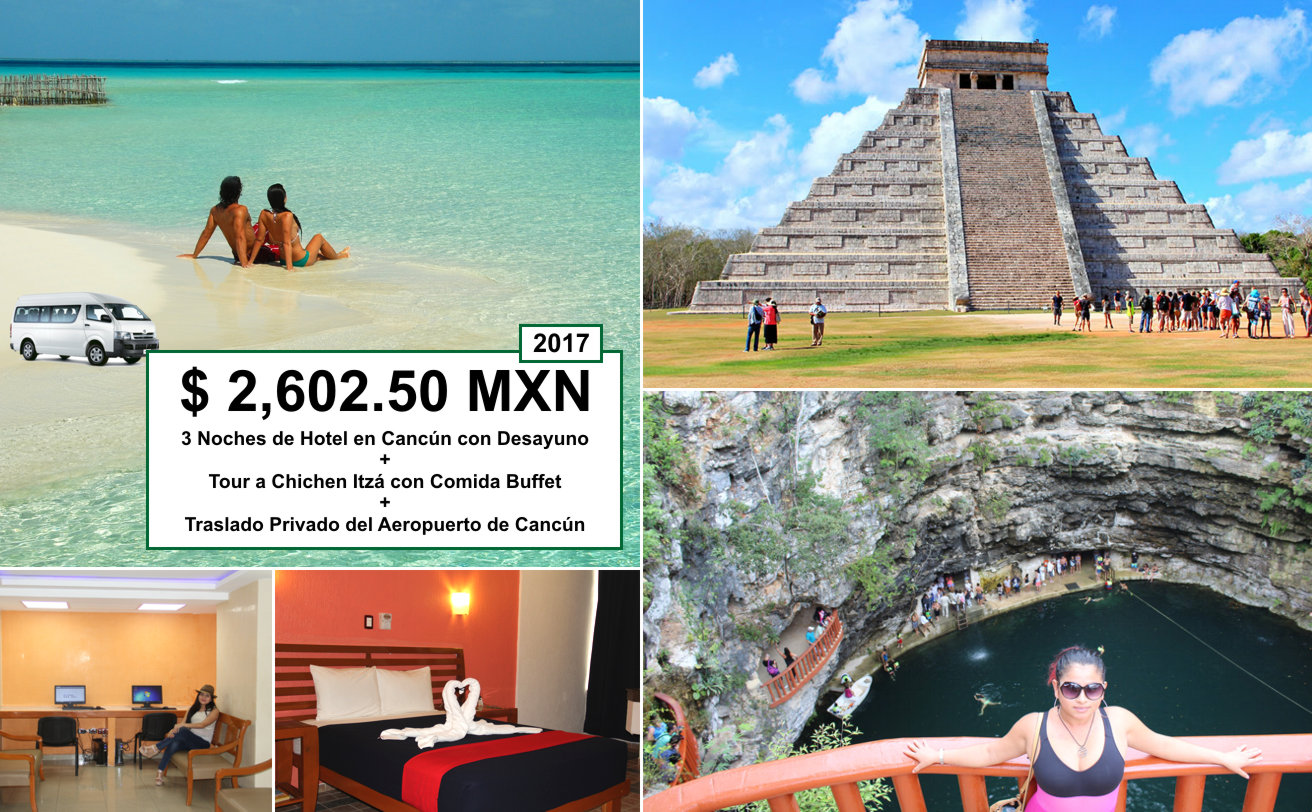 Hotel + Chichen Itzá + Traslado Aeropuerto