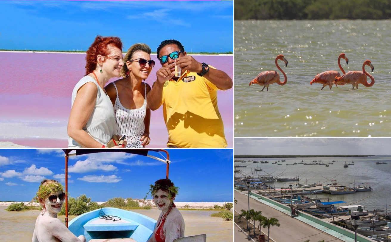 Las COLORADAS desde Cancún y Ría Lagartos