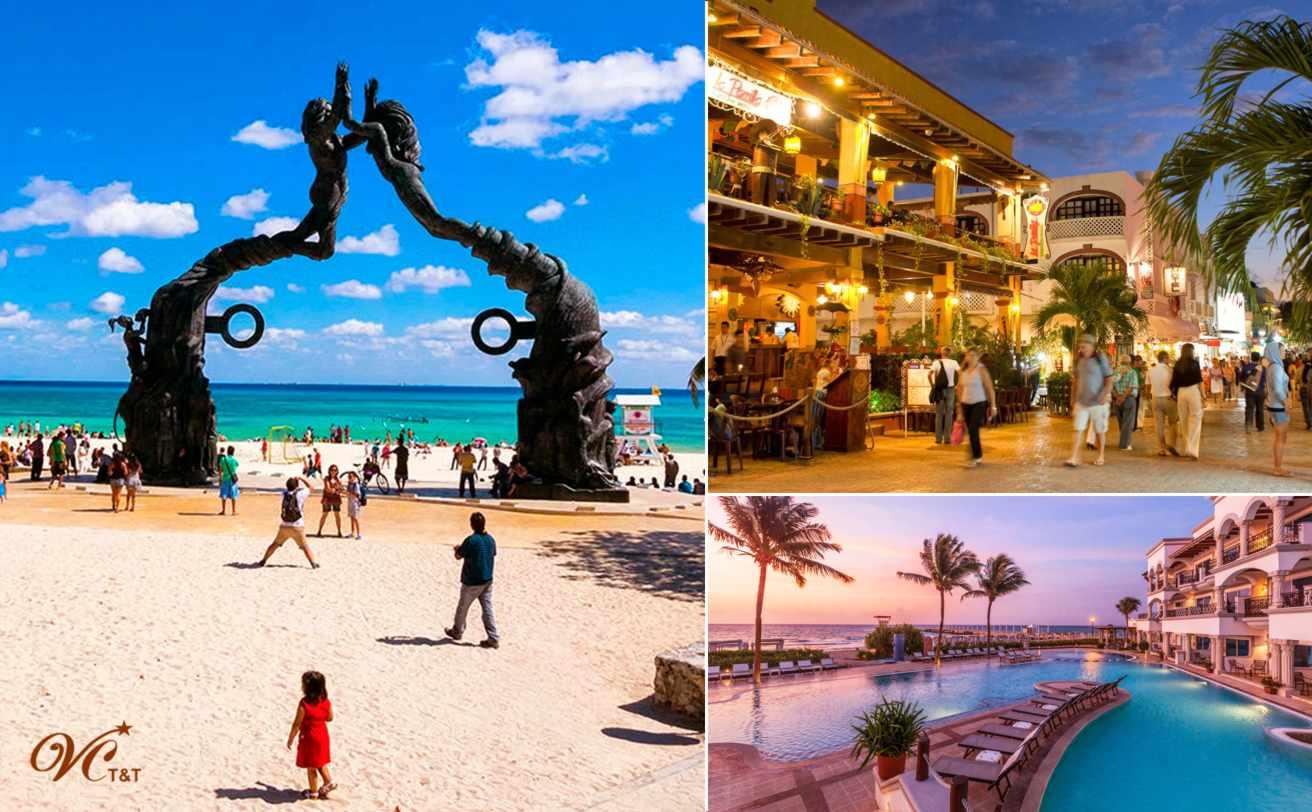 CUN Aeropuerto - Playa del Carmen | 1-8 personas | Vg