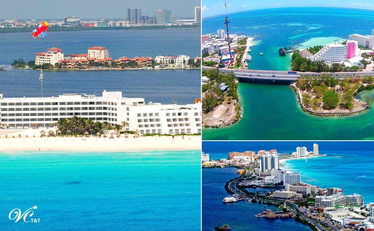 Aeropuerto - Hoteles en Cancún | 9-16 personas