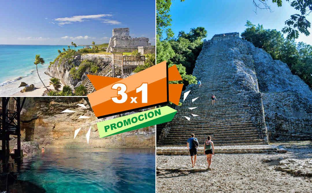 Tulum, Cobá y Cenote desde Playa del Carmen | Vg