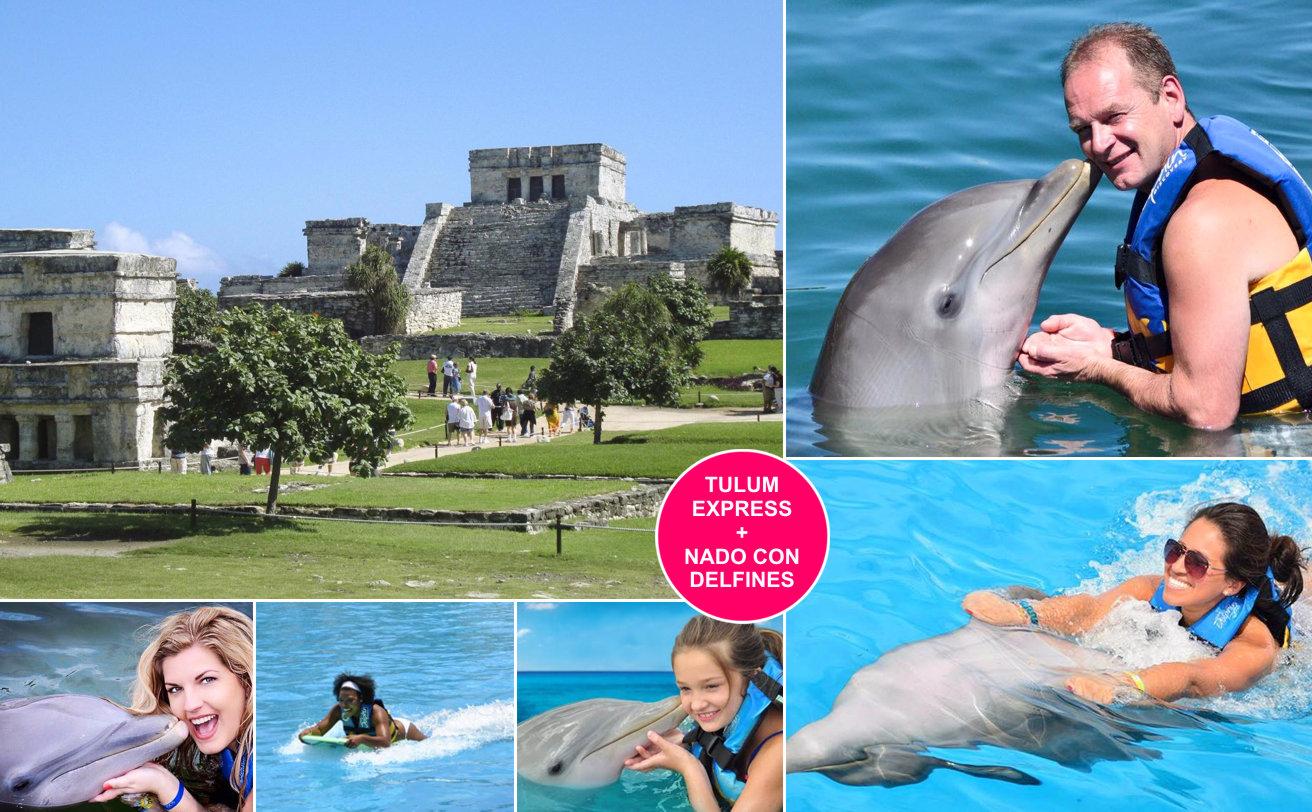 Tulum + Nado con Delfines desde Cancún ✔