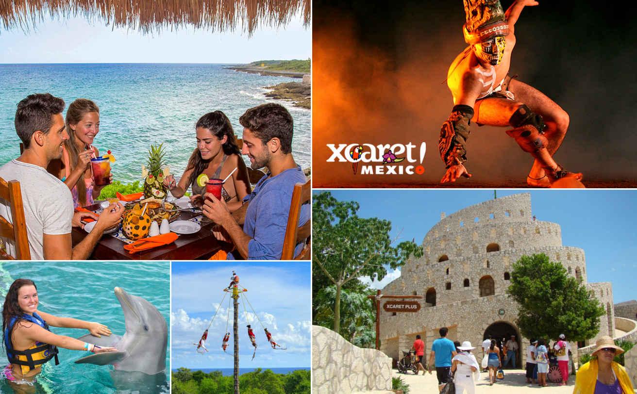 Xcaret (ida y vuelta desde Cancún)