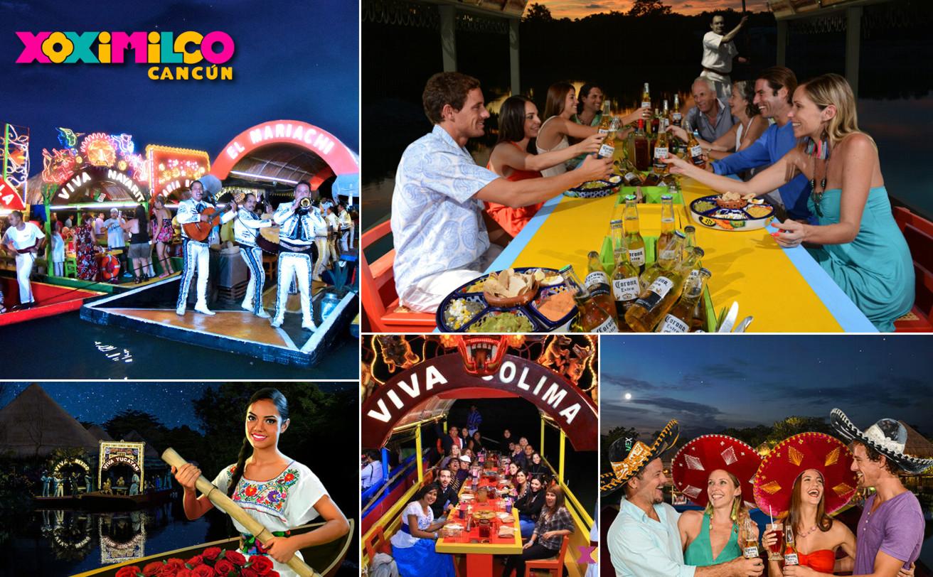 Xoximilco desde Playa del Carmen: Fiesta, Música y Tequila | VC19