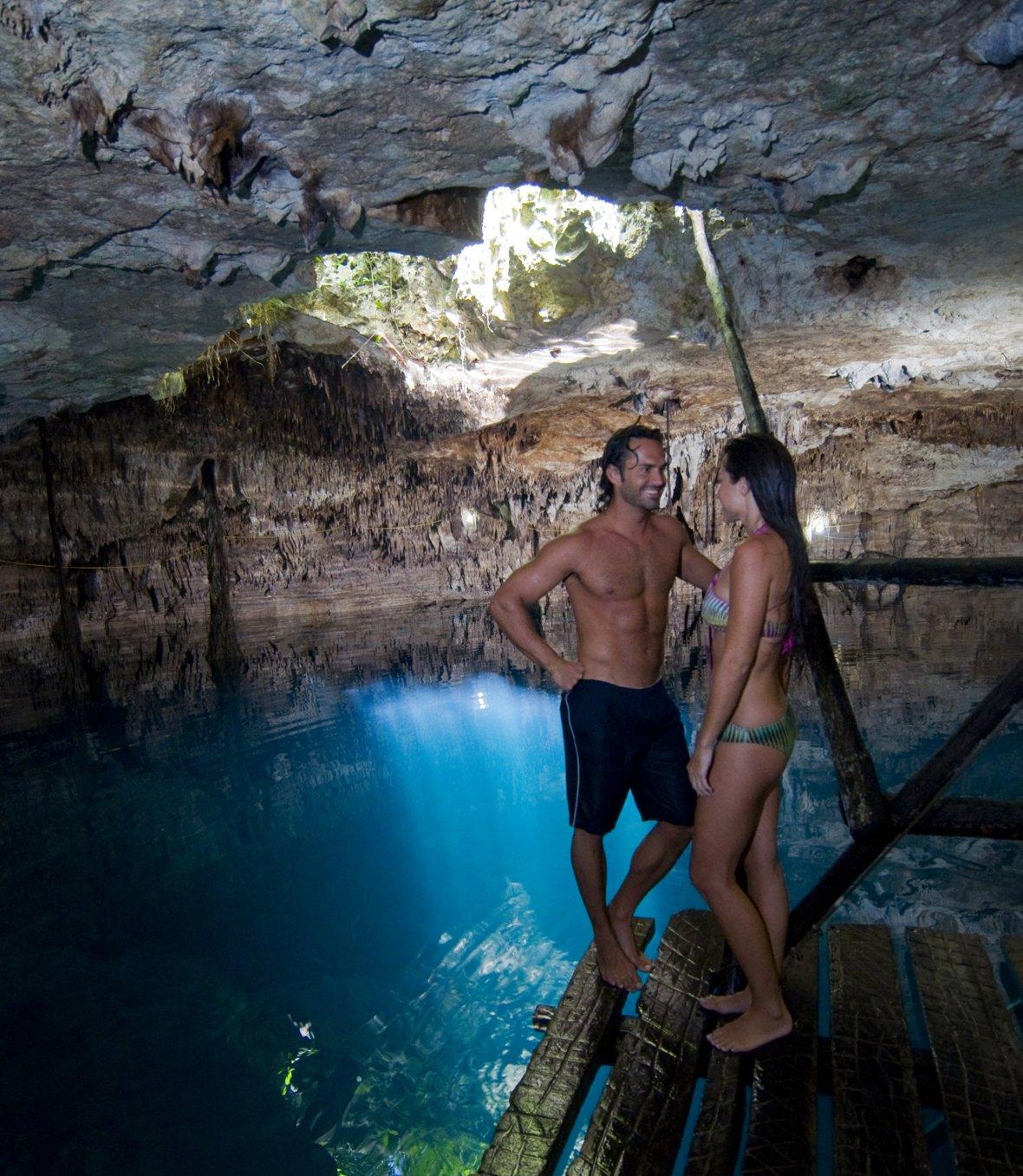Cenote Kin-Há, Playa del Carmen