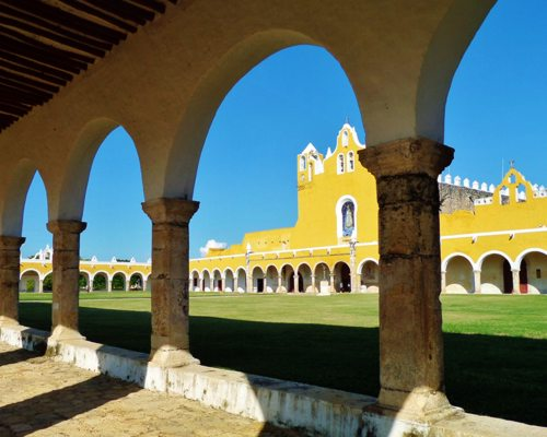 Magical town of Izamal, Yucatan