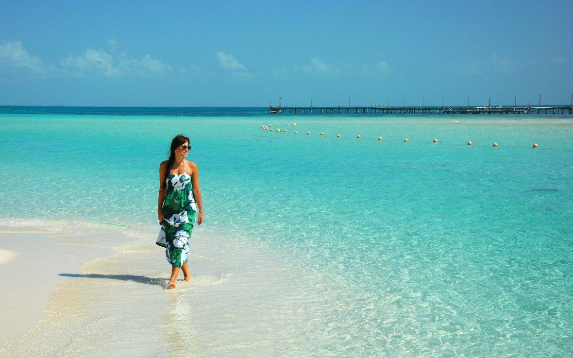 Admira La Belleza Del Mar Caribe Vive Canc 250 N